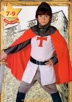 chevalier croisé templier panoplie 10/12 ans deguisement