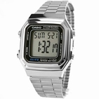 Casio A178WA 2519 acier montre unisex vintage collection